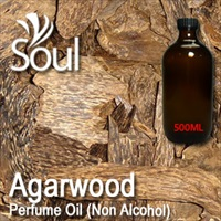 Perfume Oil (Non Alcohol) Agarwood - 500ml