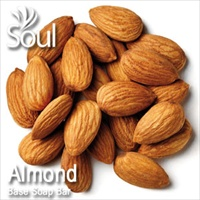 Base Soap Bar Almond - 1kg