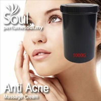 Massage Cream Anti Acne - 1000g