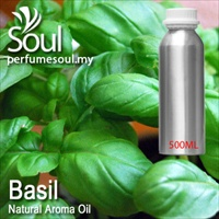 Natural Aroma Oil Basil - 500ml