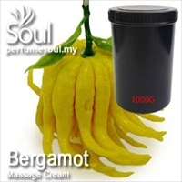Massage Cream Bergamot - 1000g