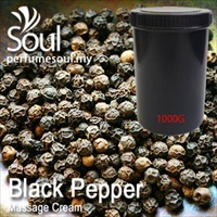 Massage Cream Black Pepper - 1000g