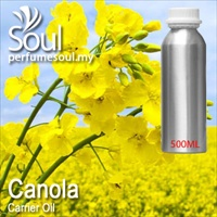 Virgin Carrier Oil Canola (Rapeseed) - 500ml
