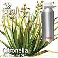 Pure Essential Oil Citronella (Java Citronella) - 500ml