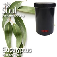 Massage Cream Eucalyptus - 1000g