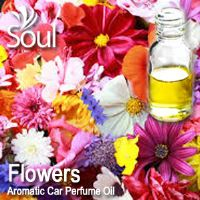 Flowers Aromatic Car Perfume Oil - 50ml