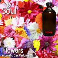 Flowers Aromatic Car Perfume Oil - 500ml