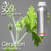 Pure Essential Oil Geranium (Lemon Geranium) - 500ml