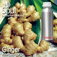 Pure Essential Oil Ginger - 500ml