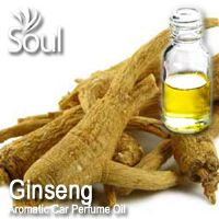 Ginseng Aromatic Car Perfume Oil - 50ml