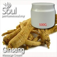 Massage Cream Ginseng - 500g