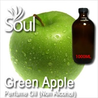 Perfume Oil (Non Alcohol) Green Apple - 1000ml