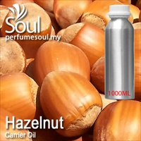 Virgin Carrier Oil Hazelnut - 1000ml