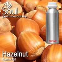 Virgin Carrier Oil Hazelnut - 500ml