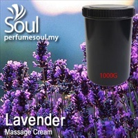Massage Cream Lavender - 1000g