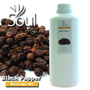 Massage Oil Black Papper - 1000ml
