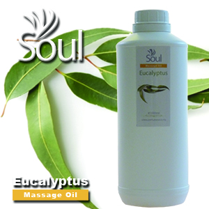 Massage Oil Eucalyptus - 1000ml
