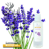 Massage Oil Lavender - 200ml