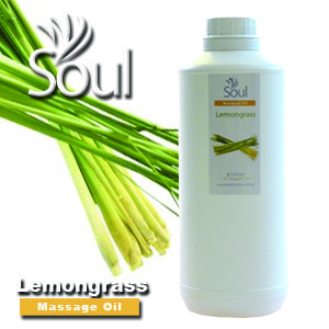 Massage Oil Lemongrass - 1000ml