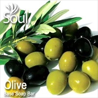 Base Soap Bar Olive - 1kg