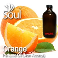 Perfume Oil (Non Alcohol) Orange - 1000ml