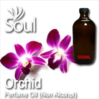 Perfume Oil (Non Alcohol) Orchid - 500ml