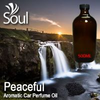 Peaceful Aromatic Car Perfume Oil - 500ml