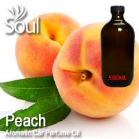 Peach Aromatic Car Perfume Oil - 500ml