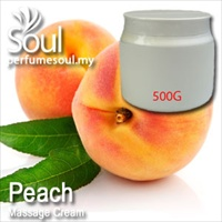 Massage Cream Peach - 500g