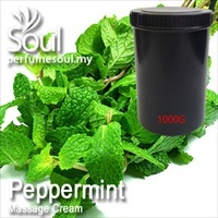 Massage Cream Peppermint - 1000g