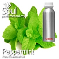 Pure Essential Oil Mint - Peppermint (Mentha Piperita) - 500ml