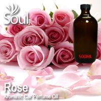Rose Aromatic Car Perfume Oil - 500ml