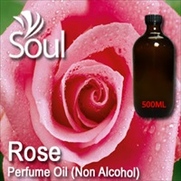 Perfume Oil (Non Alcohol) Rose - 500ml