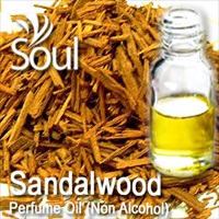 Perfume Oil (Non Alcohol) Sandalwood - 50ml