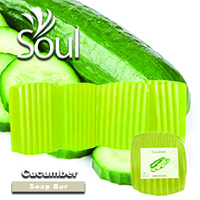 Base Soap Bar Cucumber - 1kg