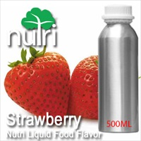Food Flavor Strawberry - 500ml