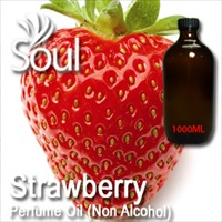 Perfume Oil (Non Alcohol) Strawberry - 1000ml