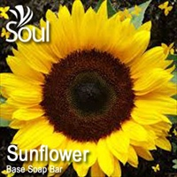 Base Soap Bar Sunflower - 1kg