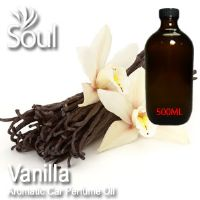 Vanilla Aromatic Car Perfume Oil - 500ml