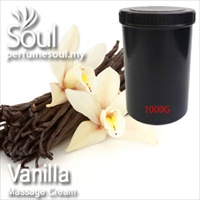 Massage Cream Vanilla - 1000g