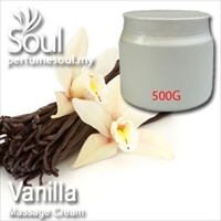 Massage Cream Vanilla - 500g