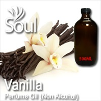 Perfume Oil (Non Alcohol) Vanilla - 500ml