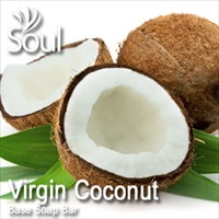 Base Soap Bar Virgin Coconut - 1kg