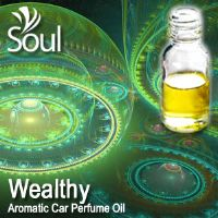 Wealthy Aromatic Car Perfume Oil - 50ml