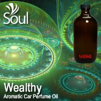 Wealthy Aromatic Car Perfume Oil - 500ml