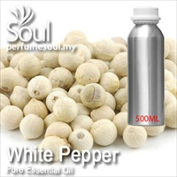 Pure Essential Oil Pepper - White Pepper - 500ml