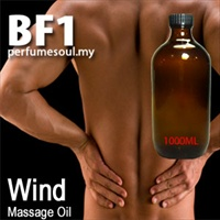 Massage Oil Wind - 1000ml