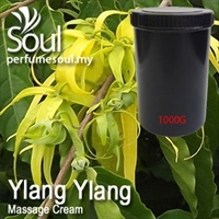Massage Cream Ylang Ylang - 1000g